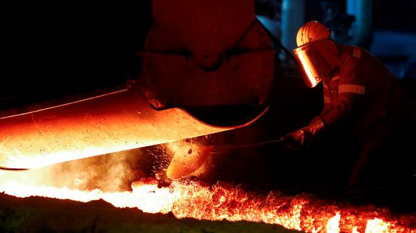 No turning point for German industry after strong June orders - ministry