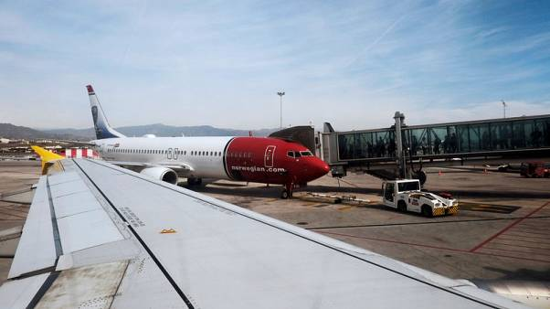 Norwegian Air's July passenger income rises less than forecast
