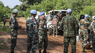 Peacekeeping patrol helps deter violence on troubled road to Yei (by Francesca Mold)