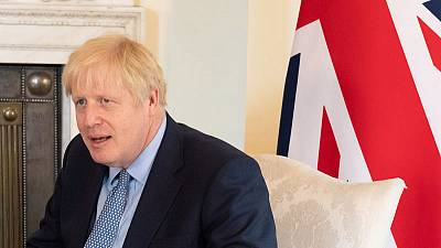 PM Johnson tells Japan's Abe smooth Brexit transition needed