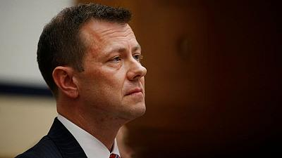 Ex-FBI agent Strzok sues agency over firing for anti-Trump texts