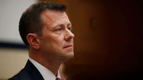 Ex-FBI agent Strzok sues agency over firing for anti-Trump texts