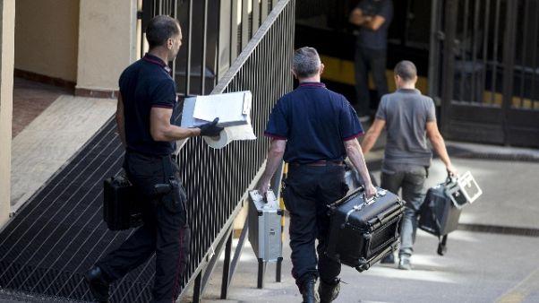 Cc ucciso:in hotel trovate tracce sangue