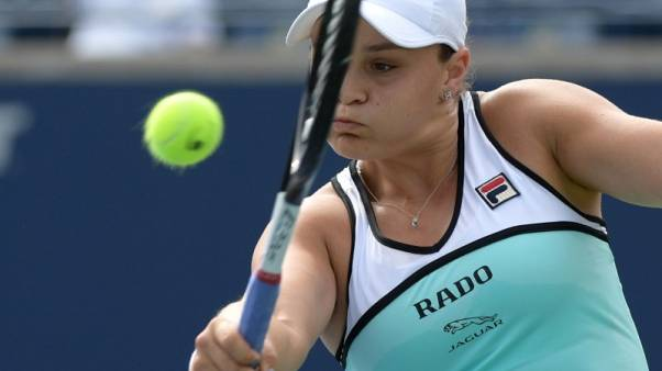 Barty suffers shock second-round loss in Toronto