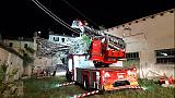 Crollo in palazzina disabitata ad Ancona