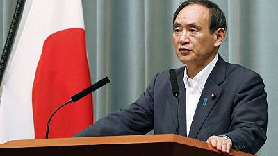 Japan's Suga: PM Abe and U.S. defence secretary didn't discuss U.S.-proposed maritime force