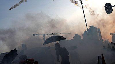Chinese official says Hong Kong facing biggest crisis since 1997
