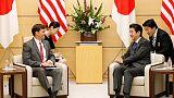 متحدث: آبي لم يناقش مع وزير الدفاع الأمريكي التحالف البحري المقترح بالشرق الأوسط