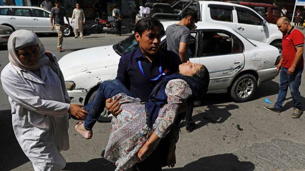 طالبان تعلن مسؤوليتها عن تفجير في كابول أوقع 14 قتيلا و145 مصابا