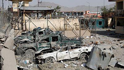 Taliban bomb kills 14, wounds 145, despite hopes for Afghan pact