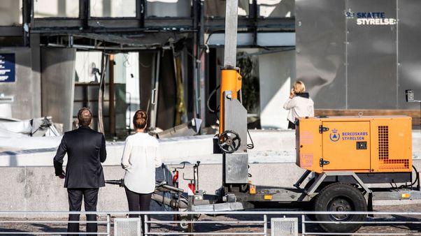 Blast hits tax office in Copenhagen in 'attack' - police
