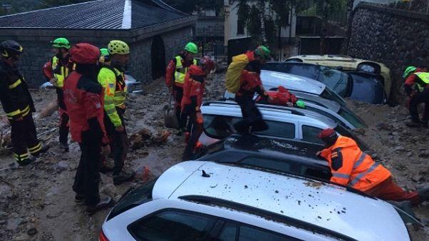 Maltempo: 80 gli evacuati nel Lecchese