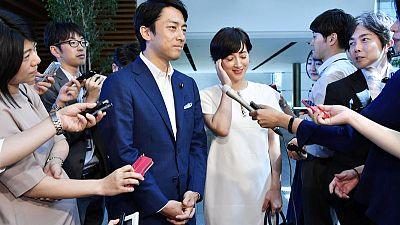 Japan abuzz over wedding bells for telegenic son of former PM Koizumi