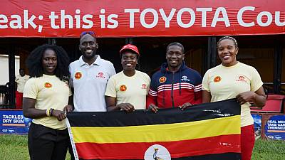 Toyota Lady Cranes off to South Africa