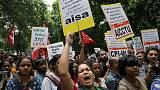 Sporadic protests as Indian Kashmir seethes under clampdown