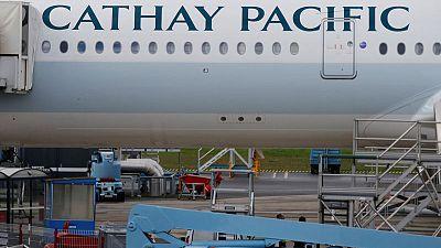 Cathay Pacific forward bookings drop amid Hong Kong protests