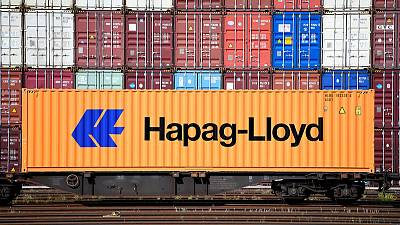 Container line Hapag-Lloyd raises first-half profit on better freights
