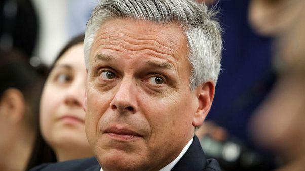Huntsman, U.S. envoy to Moscow, resigns amid talk of possible Utah political run