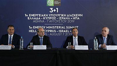 تعزيز التعاون في الطاقة بين اليونان وإسرائيل وأمريكا وقبرص