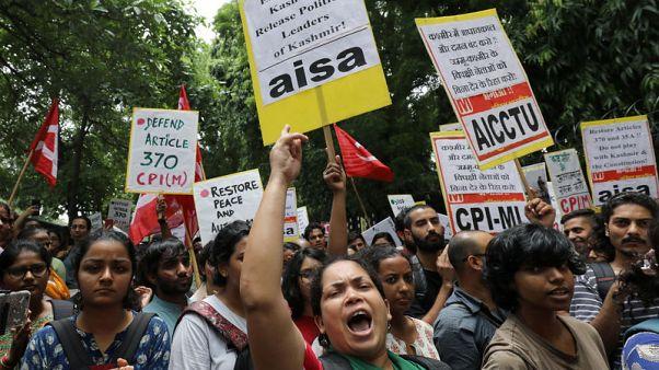 UK expresses concern to India over Kashmir situation