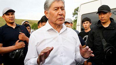 Kyrgyz police storm ex-president's house - report