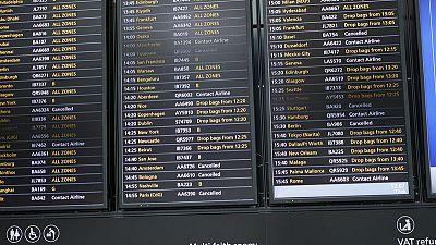 الخطوط الجوية البريطانية تعلن حل المشكلات الفنية في مطارات لندن