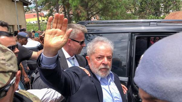 Brazil judge clears ex-president Lula's move to Sao Paulo jail