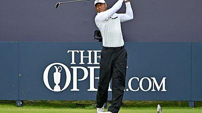 Tiger battling back stiffness ahead of playoff opener