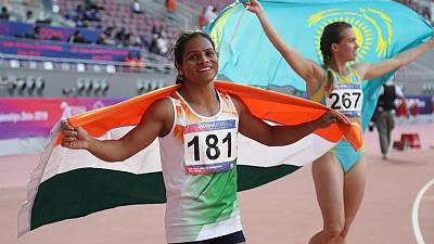Athletics: India sprinter Chand signs two-year deal with Puma