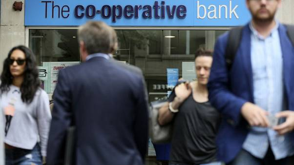 Britain's Co-op Bank posts further losses as mortgage competition bites