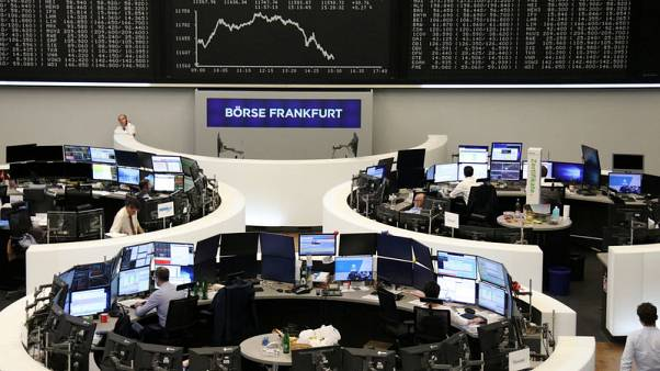 China reprieve lifts European shares, Adidas disappoints