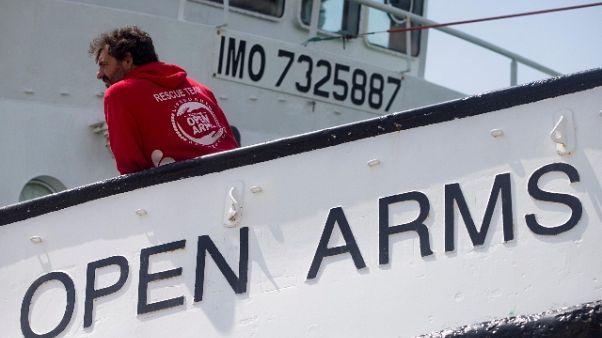 Open Arms ancora senza porto