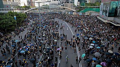 """الصين تحث أمريكا على عدم إرسال إشارات خاطئة إلى """"الانفصاليين"""" في هونج كونج"""