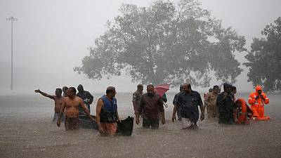 فيضانات الهند تودي بحياة 33 وتشرد الآلاف