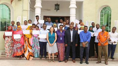 USAID/DJIBOUTI Workforce Development Project: Graduation Ceremonies for 475 Trained Djiboutian Youth