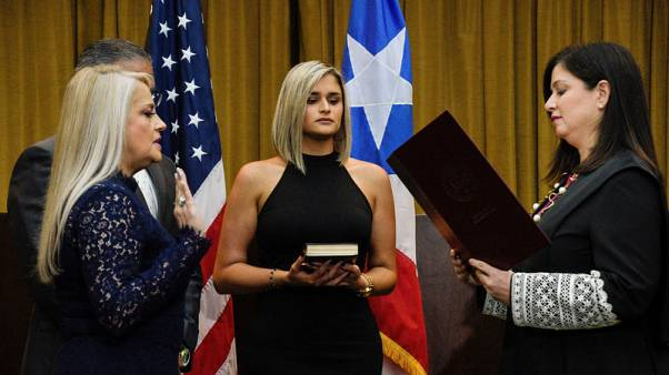 Puerto Rico's new governor says she intends to remain in office