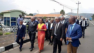 Ebola, collaboration transfrontaliere : Communique Conjoint a l'occasion de la visite du Ministre Congolais de la Sante au Rwanda