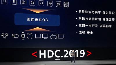 Huawei unveils new OS for use in smartphones, other devices