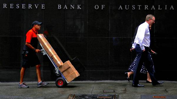 Australia economy seen turning up, rate cuts still on table