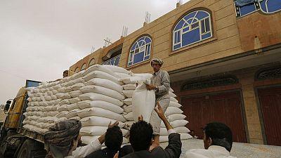 برنامج الأغذية العالمي يستأنف توزيع الغذاء في صنعاء الأسبوع المقبل