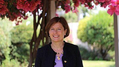 Mrs Laurence Beau, Ambassador-designate of France to Botswana