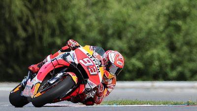 MotoGp: Marquez top time in Libere 2