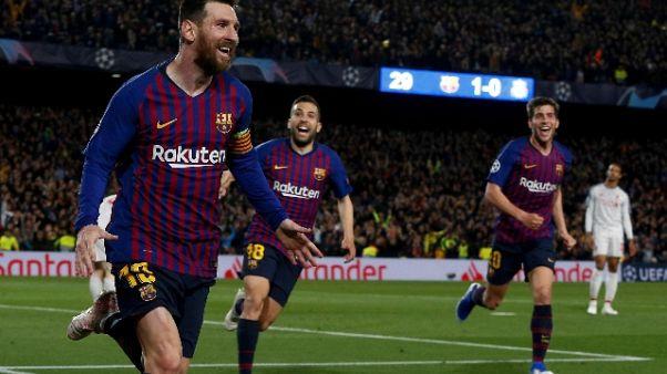 Uefa, di Messi gol più bello stagione