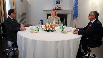 Cyprus leaders agree to seek peace again, but 'disagreements persist'
