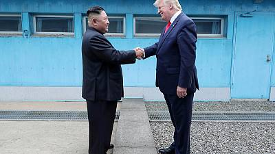 Trump says North Korea's Kim sent 'very beautiful letter'; new meeting possible