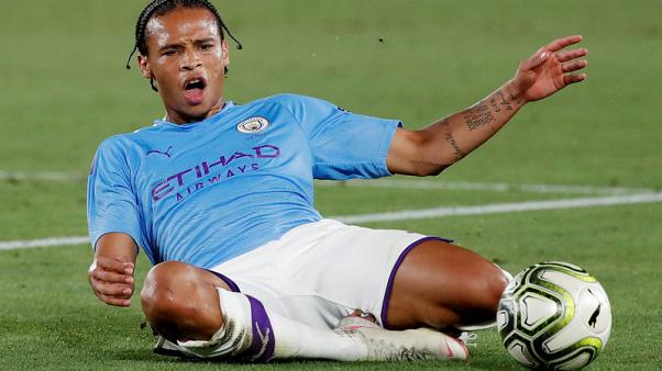 Man City's Sane faces up to seven months out, says Guardiola