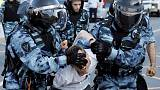 Russian protesters hurt in police crackdown seek redress in courts