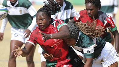 Rugby World Cup African Qualifiers: Kenya defeated Madagascar on Friday in Brakpan, South Africa during the Rugby Africa Women's Cup