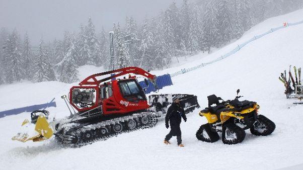 Cortina,'campane'anti-valanghe su Tofane