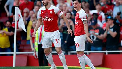 Arsenal's Ozil, Kolasinac left out of squad due to 'further security incidents'